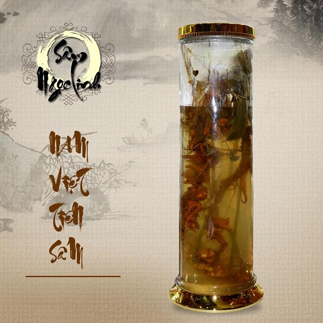 Bình rượu Sâm Ngọc Linh 16L