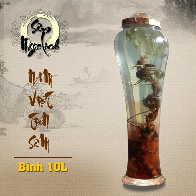 Bình Sâm Ngọc Linh KG18 10L