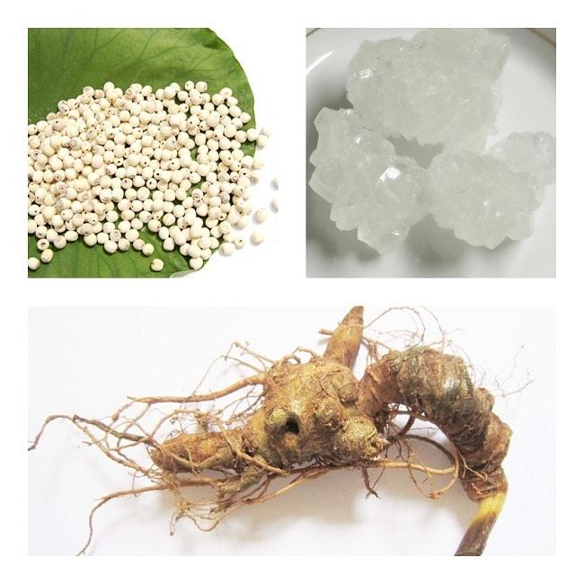 Cách dùng sâm Ngọc Linh nấu chè sen là món ăn giải nhiệt ngon miệng trong mùa hè