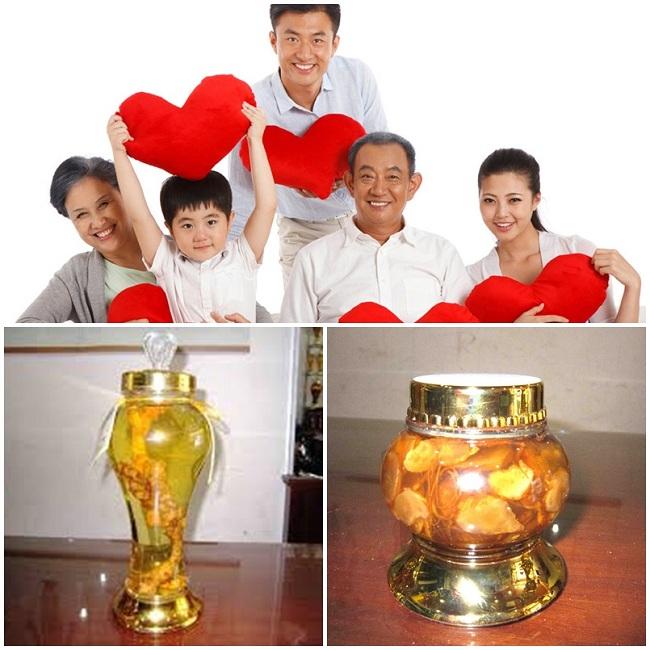 Sâm Ngọc Linh lộ thiên ngâm rượu hay ngâm mật ong đều mang lại công hiệu tuyệt vời cho sức khỏe