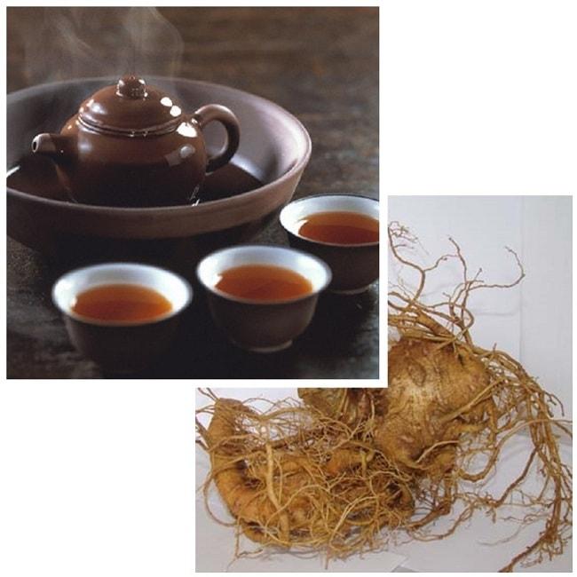 Cách uống sâm ngọc linh hãm trà giúp giải rượu hiệu quả