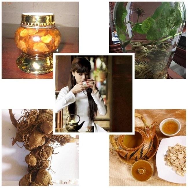 Một số cách dùng sâm Ngọc Linh chữa bệnh tốt nhất và rất phổ biến
