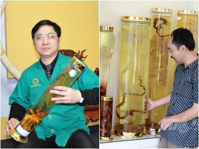 Bình ngâm sâm Ngọc Linh mang đến sự đẳng cấp cho căn nhà,  sự thịnh vượng cho gia chủ