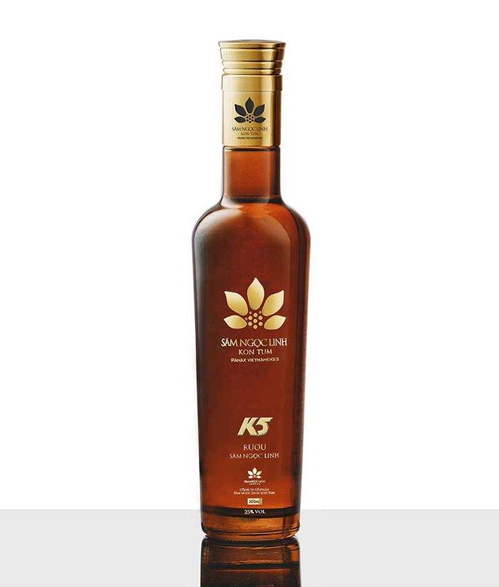 Rượu Sâm Ngọc Linh K5 Gold – 500ml 2