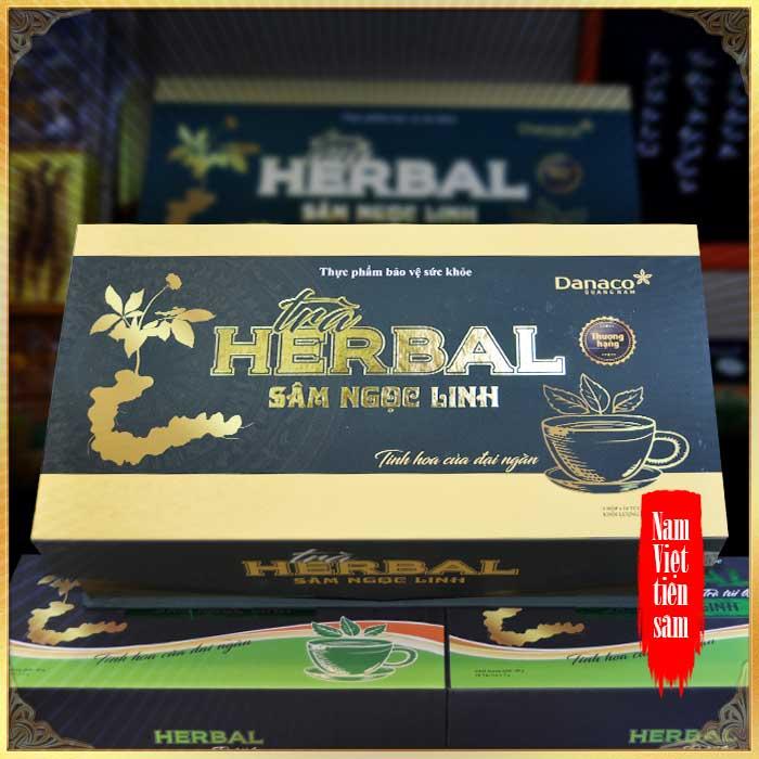 Trà sâm Ngọc Linh herbal túi lọc thượng hạng (40g) NS669