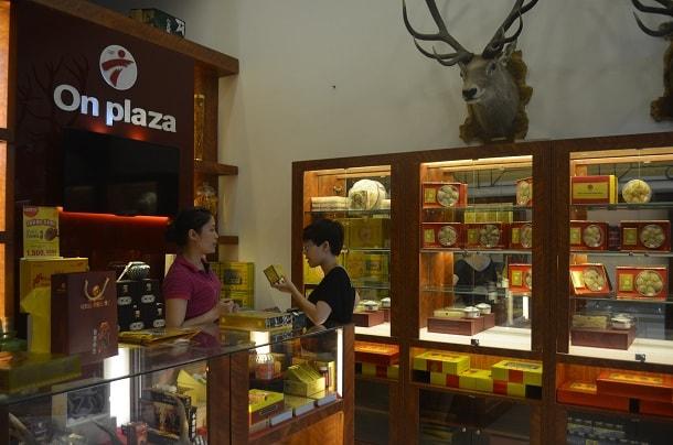 Cửa hàng bán sâm ngọc linh tự nhiên tại Hà Nội