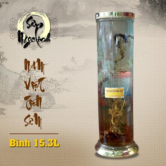 Bình sâm ngọc linh KG18 15.3L