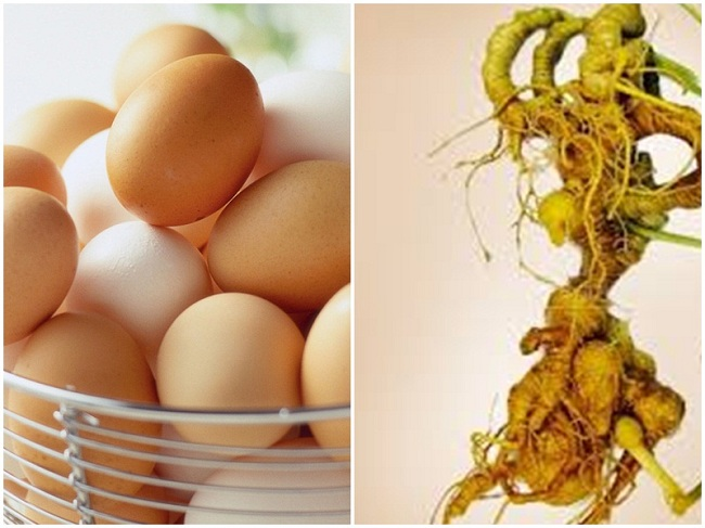 Trẻ em chậm lớn nên dùng sâm Ngọc Linh hấp trứng gà