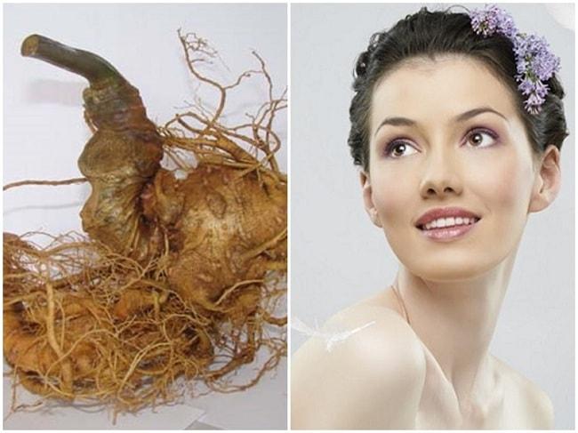 Sâm Ngọc Linh cho một làn da và cơ thể khỏe mạnh