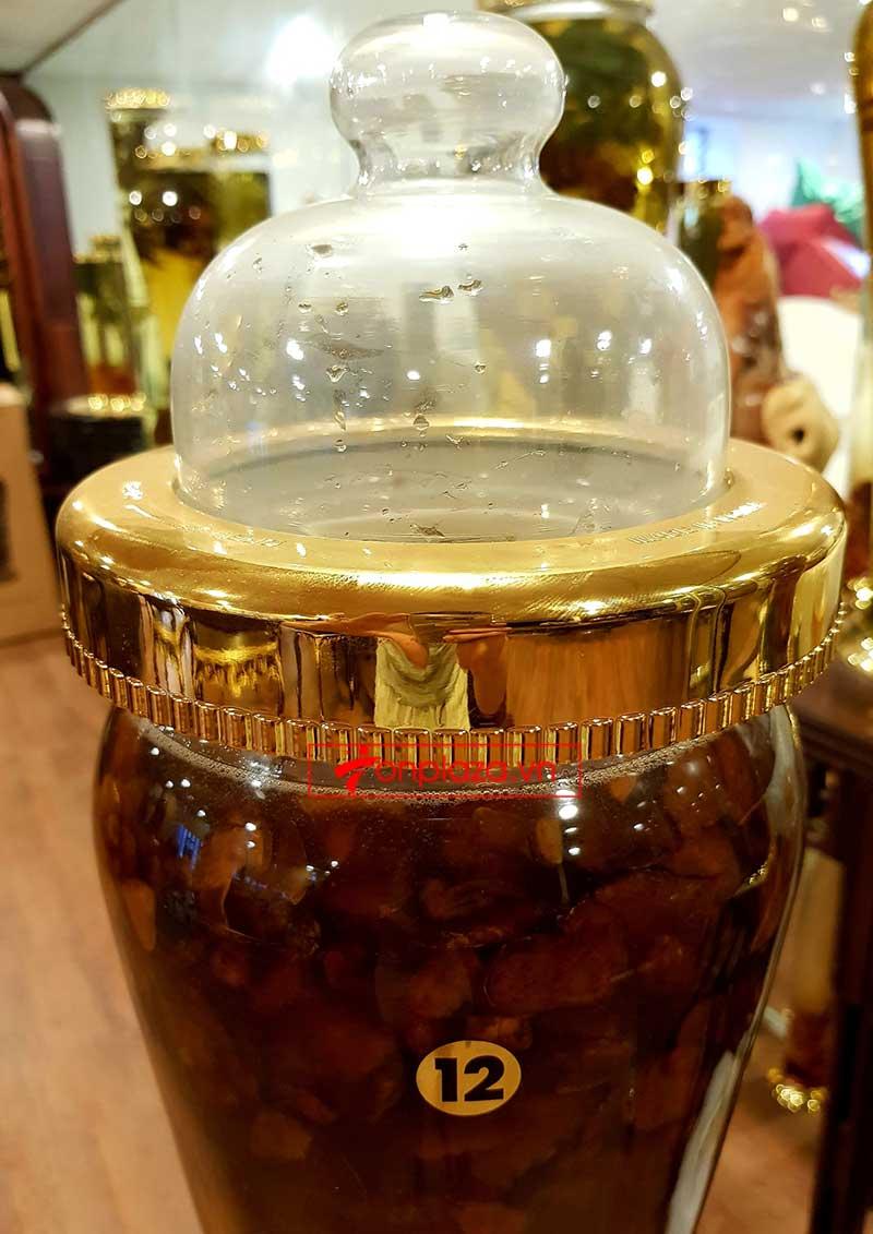 Bình 1kg sâm Ngọc Linh thái lát tẩm mật ong 7 lít NS639 2