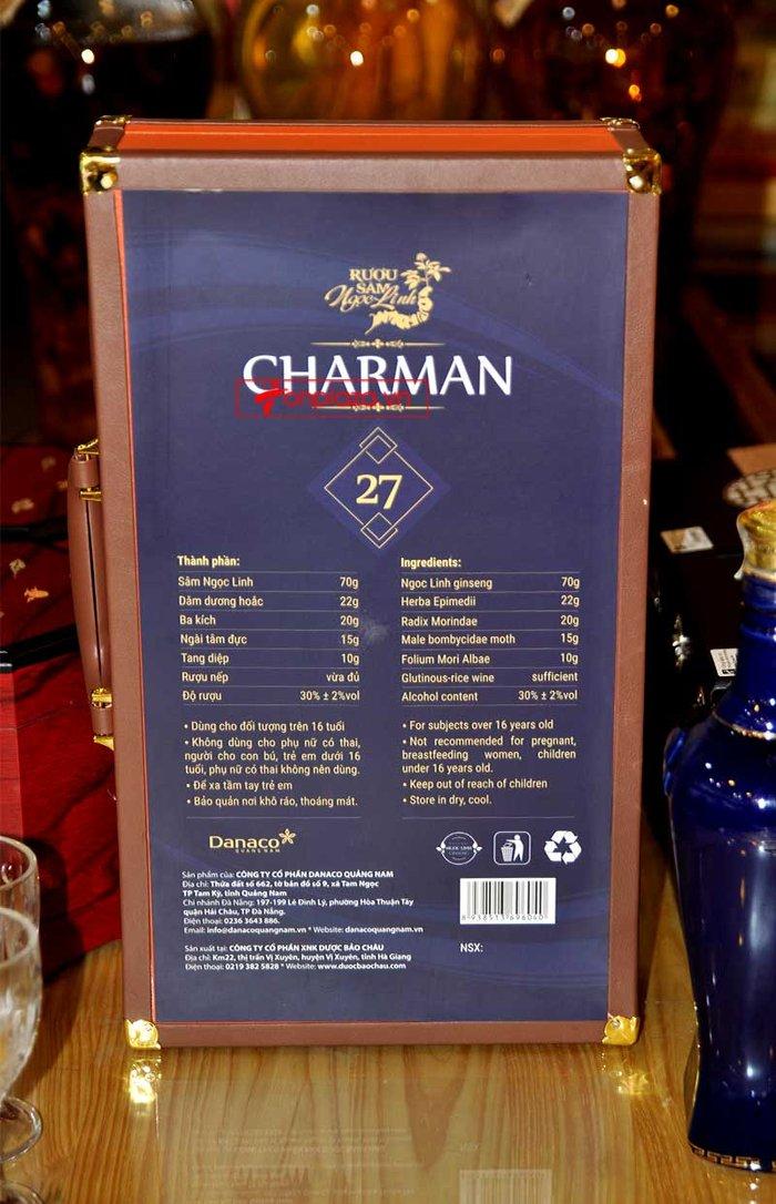 Sâm Ngọc Linh charman27 (700ml) NS668 10