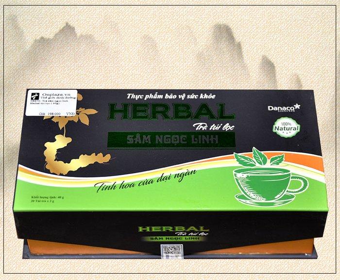 Trà sâm ngọc linh Herbal túi lọc (40g) NS670 1