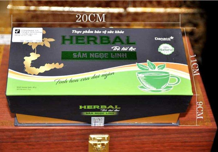 Trà sâm ngọc linh Herbal túi lọc (40g) NS670 3