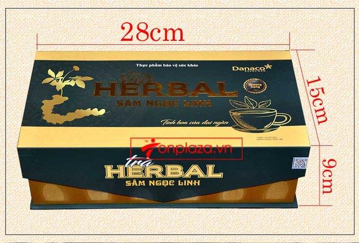 Trà sâm Ngọc Linh herbal túi lọc thượng hạng (40g) NS669 2
