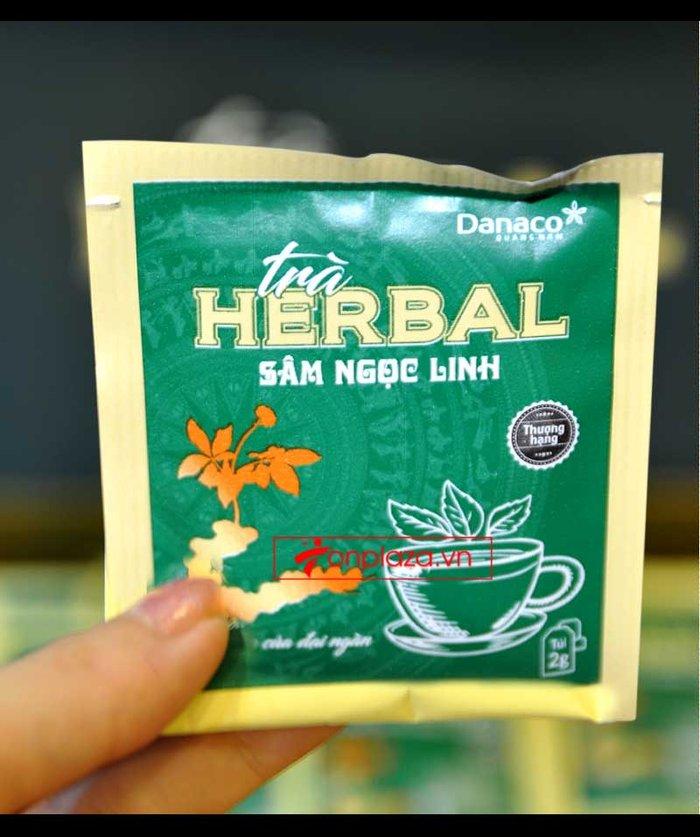Trà sâm Ngọc Linh herbal túi lọc thượng hạng (40g) NS669 6
