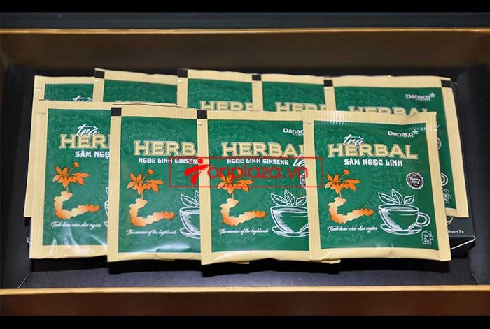 Trà sâm Ngọc Linh herbal túi lọc thượng hạng (40g) NS669 7