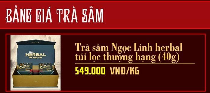 bang-gia-tra-sam-ngoc-linh-tai-onplaza-viet-phap