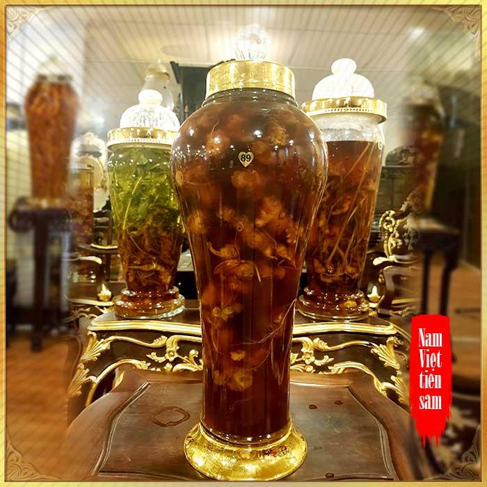 Bình rượu sâm Ngọc Linh thượng hạng số 89 - 5 lít